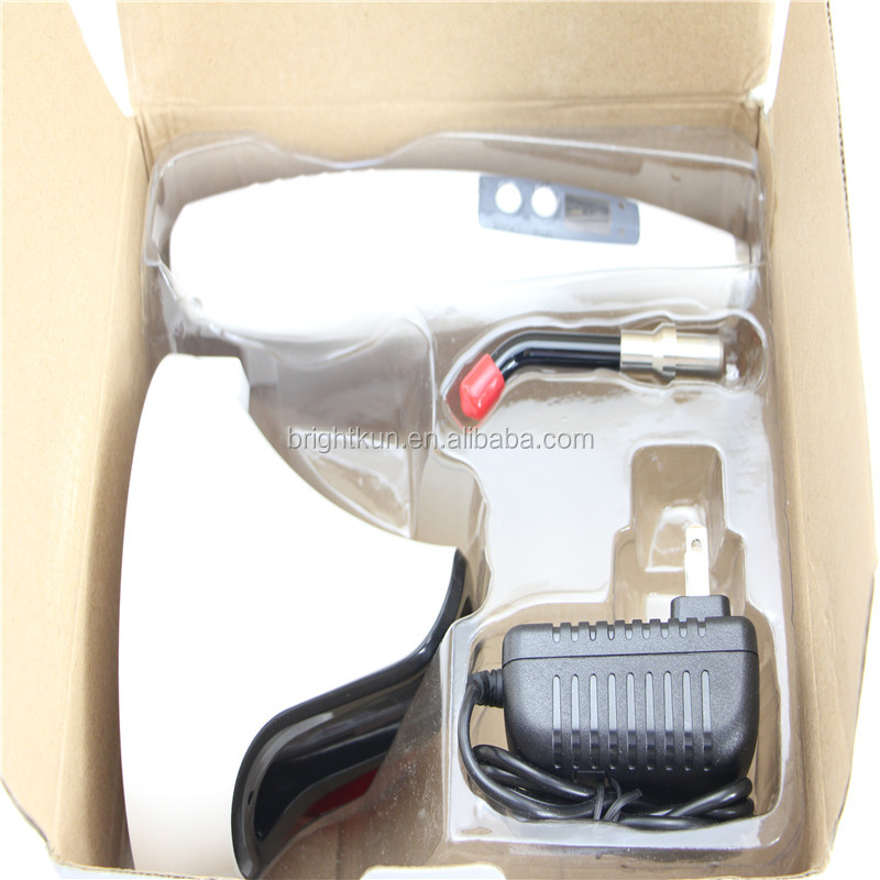 high power white plastic shell led dental wireless curing light for sale