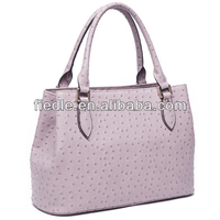 High quality noble ostrich leather handbags wholesale new york