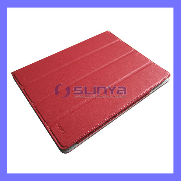 4 Fold Leather Case Stand For iPad 5 Smart Cover