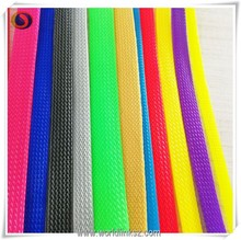 8mm Durable fire resistant pet expandable braided wire cable hose sleeving