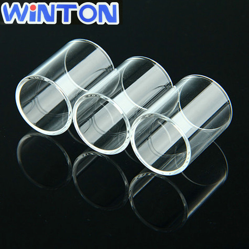 clear polishing quartz glass tube