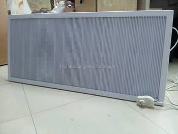 white infrared carbon heater panel with CE certification