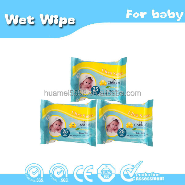 high quality baby wet wipes OEM skin care baby wet wipe from baby wipes manufacture