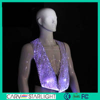 Light up stage clothing for men stage costume led men costume