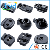 Custom fasteners stopper plastic cord lock for garment and bag