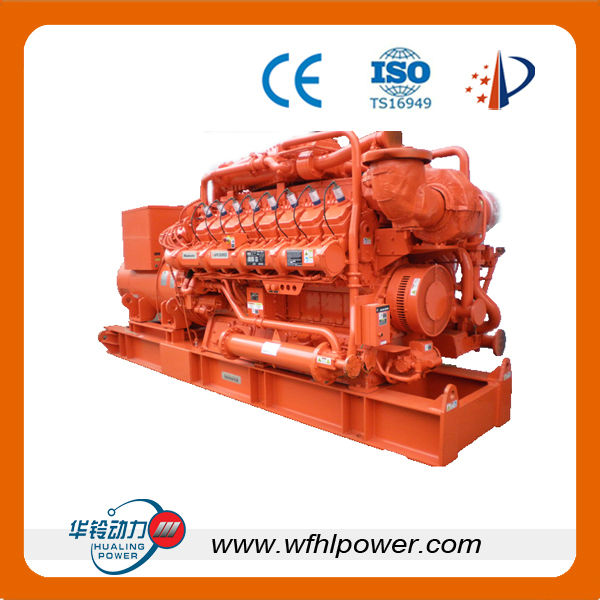 10KW-1000kw Gas Powered Electric Generator