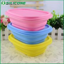 New products wholesale FDA silicone aluminum dog food container COL-02