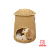 100% handmade indoor/outdoor reliable waterproof cat dog kennel with cushion