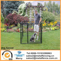 4'H X 5'W X 10'L single welded wire round tube dog kennels