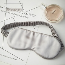 Custom Homelike Hotel Travel Mulberry Silk Eye Mask And Mulberry Silk Sleeping Eyeshade
