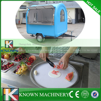 Used in food truck hot sale in Saudi Arabic Thailand flat pan fried ice cream machine