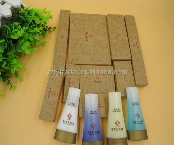 Eco-friendly design hotel amenities used for 4-5 star hotel
