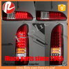 Red Full LED Light for Toyota Hiace 2005-2016 Regiusace KDH 200 van tail lamp exterior accessories