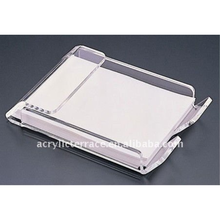 Acrylic Heavy 4x6 Note Pad Holder