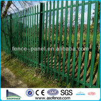 High Quality Galvanized General Purpose Palisade Fence