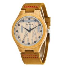 Factory wholesale brand wooden wristwatch wood watch <strong>bamboo</strong> women