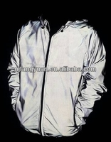 DFW-P20 100% Polyester Silver High Visible Reflective down Jacket