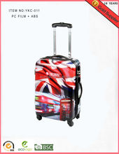 New design luggage bag with safty lock baggallini travel bag