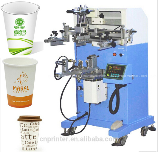 pet bottle serigrafic machine screen printing machine for paper cup