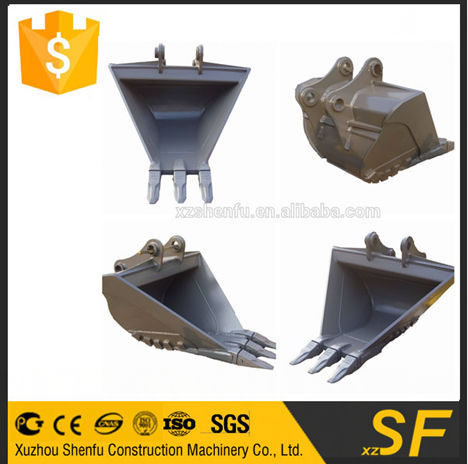 12T excavator spare parts trapezoidal bucket