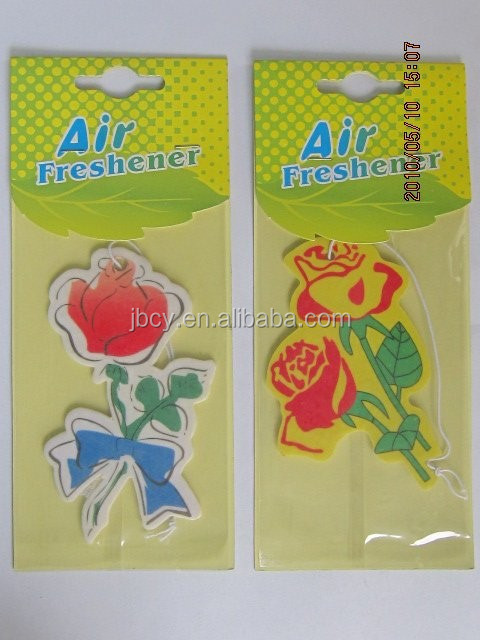 2018 cheapest paper air fresher /freshener/freshner