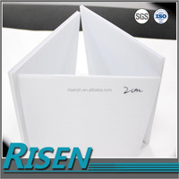 Wholesale corflute white board corrugated pp 2mm 3mm 4mm 5mm 6mm plastic sheet