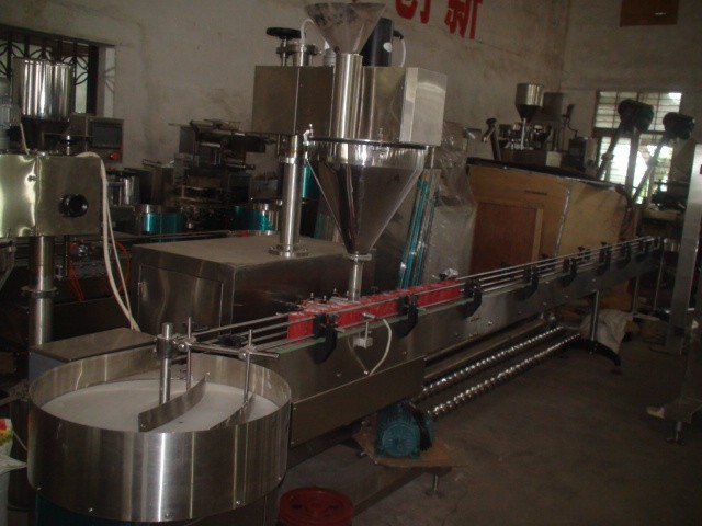 SJ-500 Automatic Baby Milk Powder Filling Machine (Screw type)