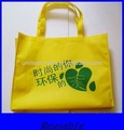 yellow non-woven recycle bag
