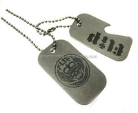 Stainless steel dog tags, suitable for business gifts or promotional gifts