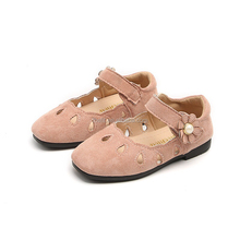 Wholesale Fashion Children Shoes Flat Round Toe Kid Shoes Girls Dress Shoes