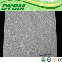 pvc laminated gypsum ceiling panel / plate