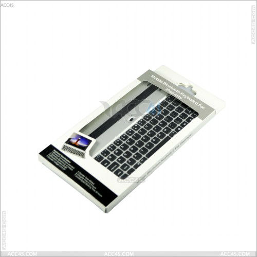 Metal wireless Bluetooth Keyboard Case Cover for iPad Mini