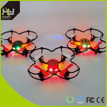 2.4g 4-axis ufo aircraft mini quadcopter Skull Drone with cool LED light