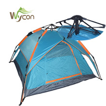 3-4 people pop-up camping tent outdoor waterproof material and facoty price