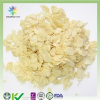 hot sale dehydrated garlic flakes for healthy food