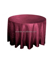 Hotel Table Cloth Many Size And Colors Choose Polyester Table Cloth Taffeta Pintuck Table Cloth
