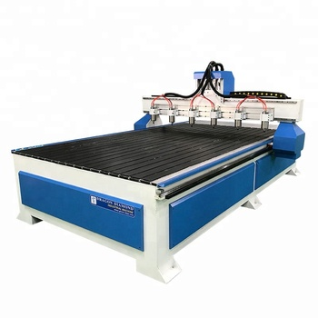 Ce Certification Multi Head 6 Spindle 1325 Cnc Router Wood Carving Machine For Sale