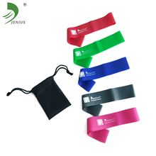 Wholesale TPE 4 levels custom printed elastic stretching exercise fitness resistance loop bands