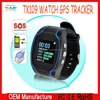 "1.5"" LCD GPS/GSM /GPRS Watch Tracker TK109 Quad band with real-time display Wristwatch for Elderly and Children"