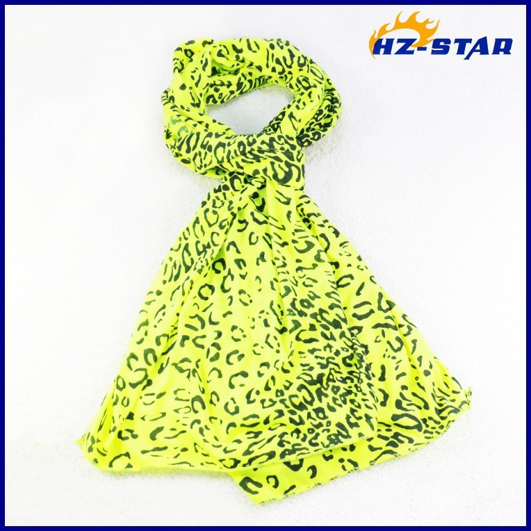 HZW-13683005 China promotional factory voile muffler women polyester scarf