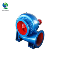 High pressure portable agricultural irrigation diesel mixed flow flresh water pump with panel