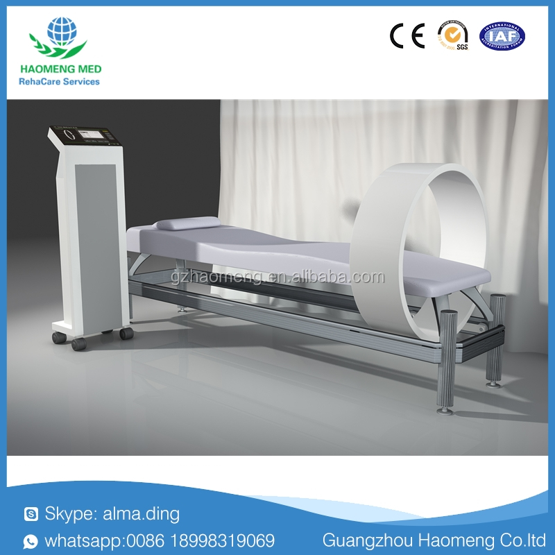Magnetic therapy table with for output treatment channel /pulsed electromagnetic field therapy