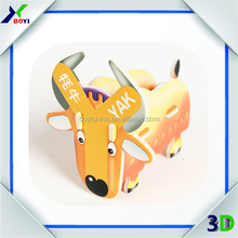 3D paper toy plane puzzle EPS foam model made in china,3d robot puzzle