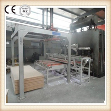 MDF Short Cycle Melamine Lamination Hot Press Machine