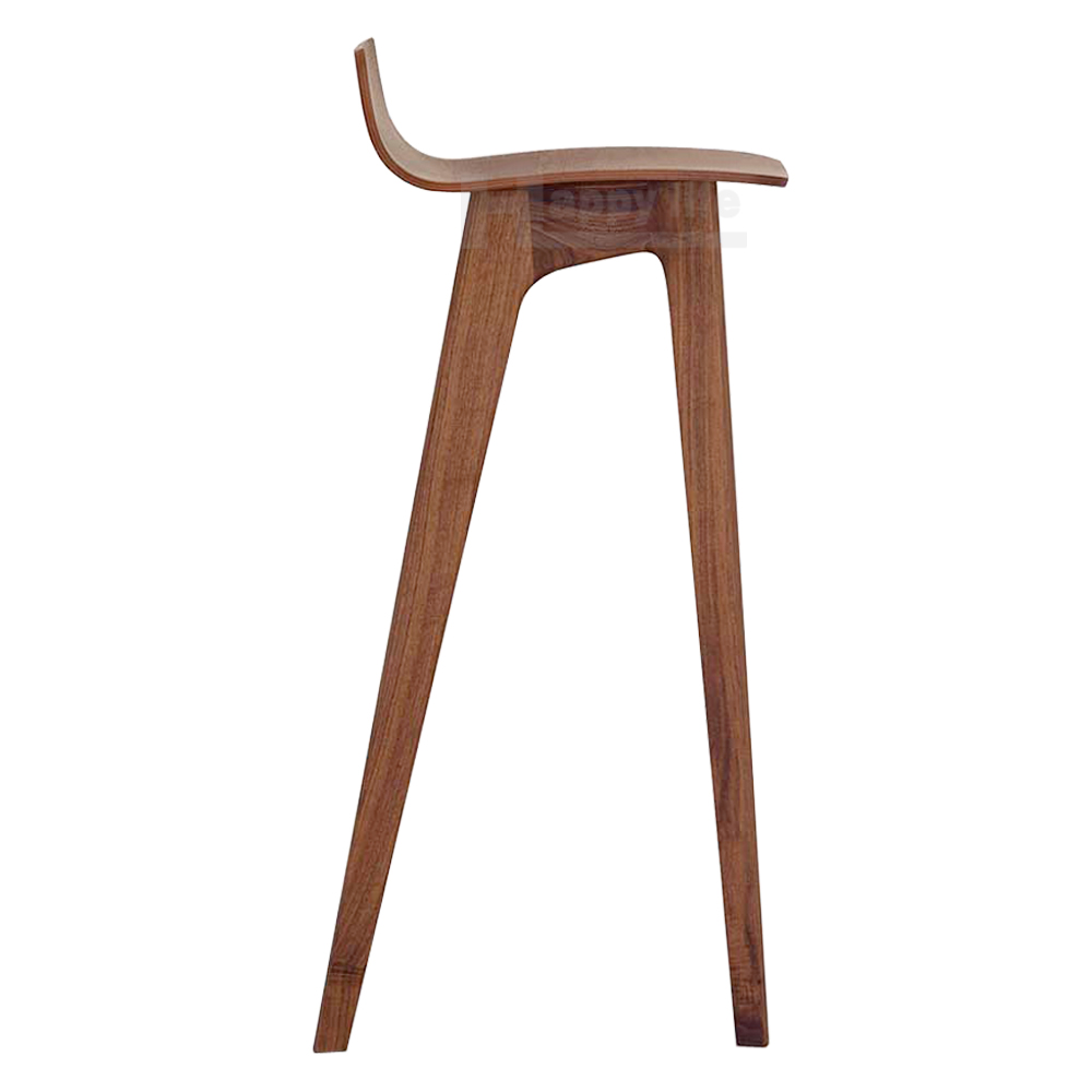 Design commercial wooden stool for bar and cafes