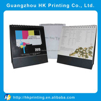 printing special paper printing promotional desk calendar