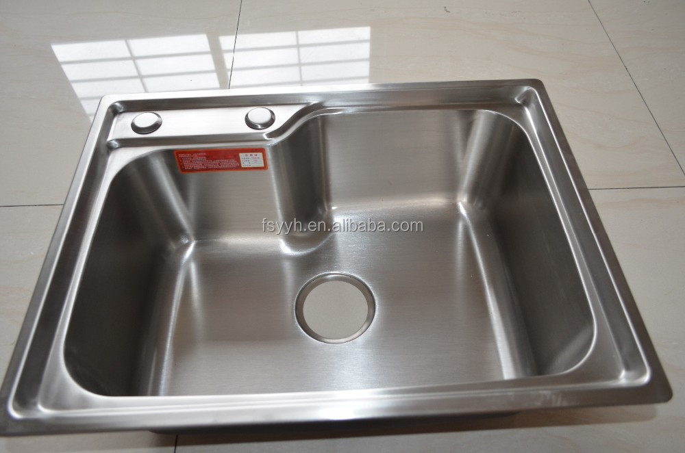 Stainless steel 304/201 wash basin kitchen sink