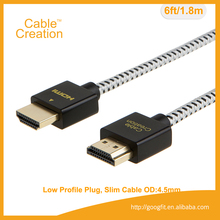 10FT 3M Gold Plated Supports Wholesale awm 20276 high speed 3D 1.4 2.0 4K HDMI Cable