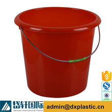 colorful plastic 20 liter paint bucket with rope handle
