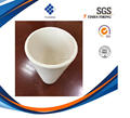 Metal assaying mining assay ceramic alumina crucible